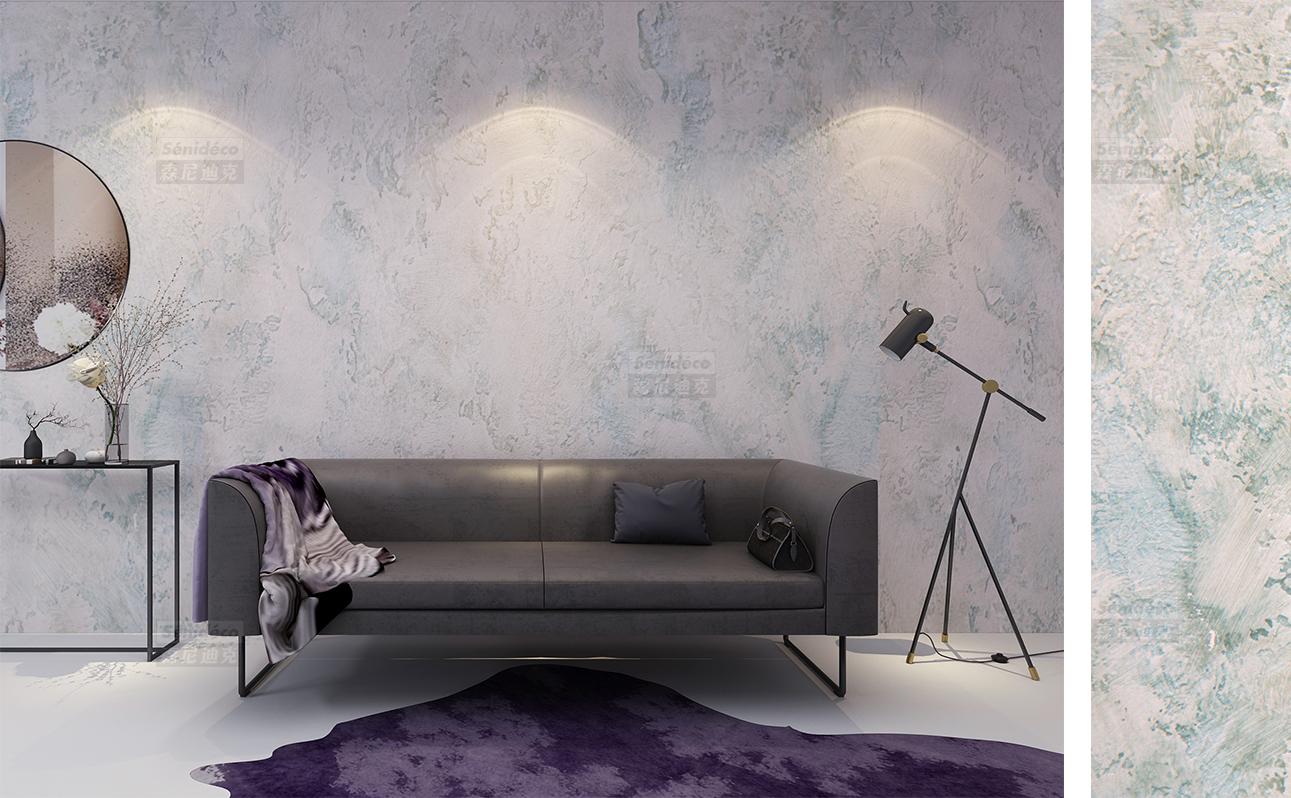 墙面做进口艺术涂料森尼迪克的六个系列效果出乎意外的好看